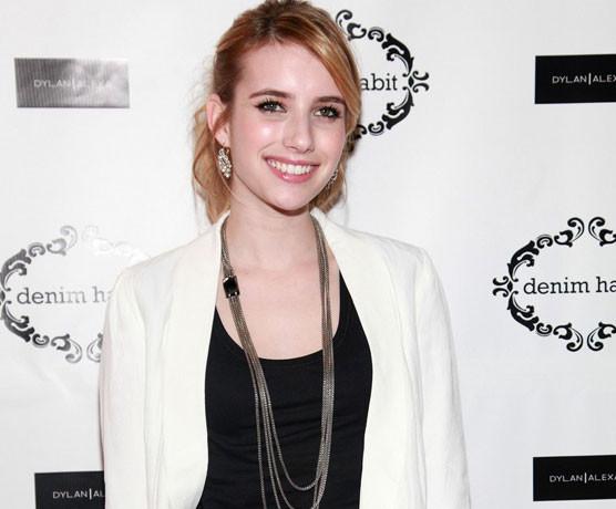 Emma Roberts for Denim Habit